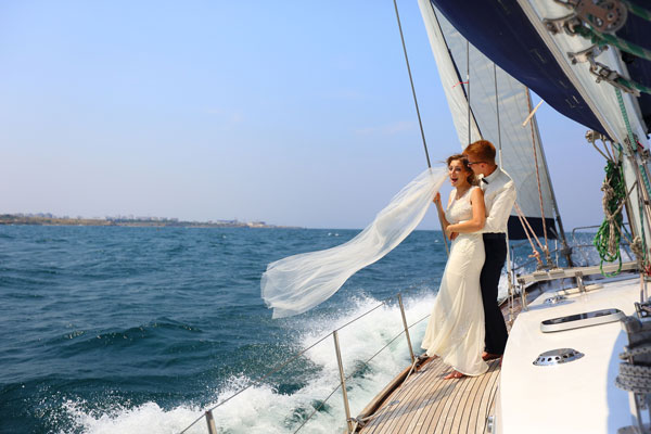 Private Honeymoon Yacht Cruise