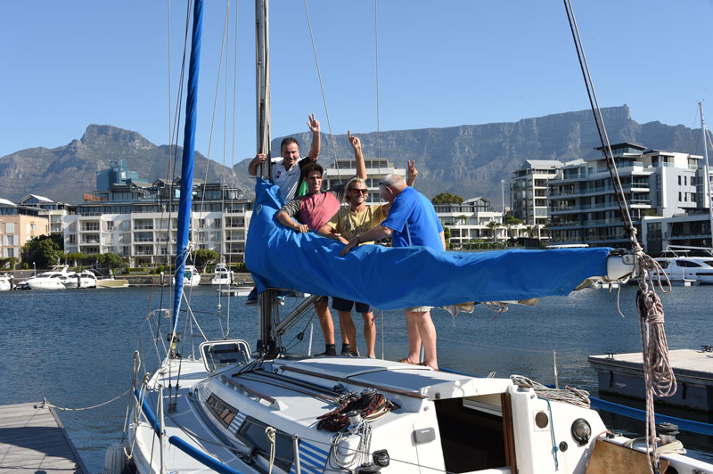 Sailing Cape Town