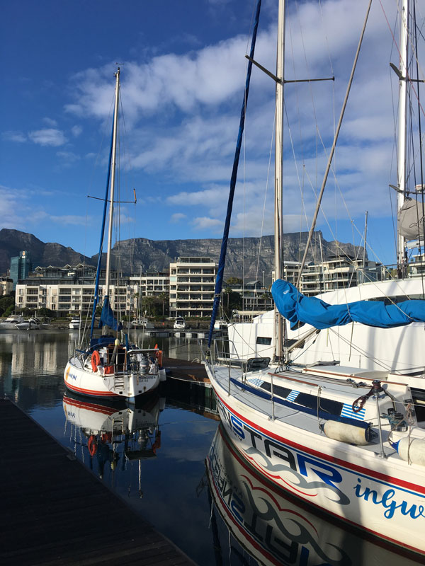 yachting cape town